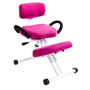 GXG 機能工學 跪姿椅 TW-457C(桃紅)