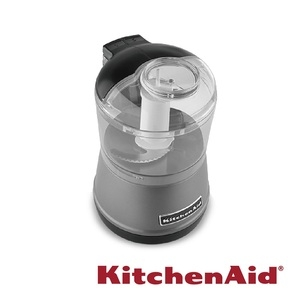 KitchenAid迷你食物調理機 太空銀