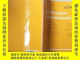 二手書博民逛書店Arbitration罕見internationalY8791