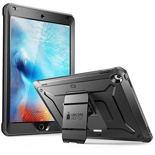 【日本代購】SUPCASE New Ipad Pro 10.5  12.9  9.7英寸手機殼前屏幕保護套  黒