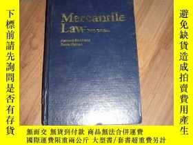 二手書博民逛書店Mercantile罕見Law商法(英文版)(內部交流)Y136