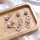 925純銀針  韓國優雅氣質 甜美魅力、...