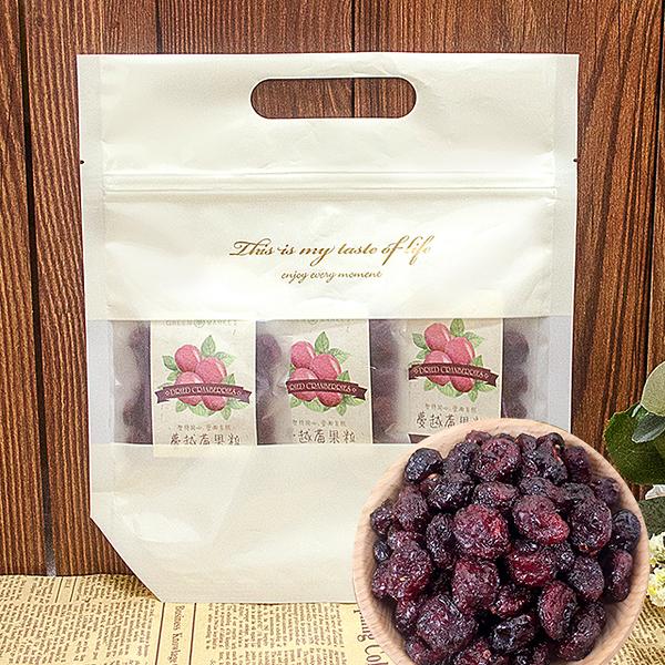 美國蔓越莓果粒-隨身點心袋-35gX8入【菓青市集】