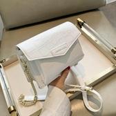 高級感石頭紋包包2020新款潮夏天韓版時尚鏈條單肩女包斜挎小方包 @智慧