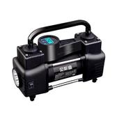 雷傲12V車載充氣泵雙缸高壓便攜式小轎車輪胎汽車用打氣泵筒電動 NMS小明同學