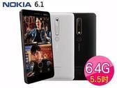 福利品-Nokia 6.1 (4G/64GB) 5.5吋八核心智慧型手機