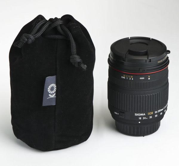 呈現攝影-SAMARK 絨布收納袋 C2  8x15cm 保護袋 鏡頭 觸發器 快門線 Gopro 運動攝影機 小雲台