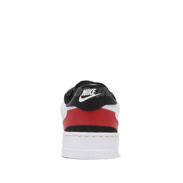 Nike 休閒鞋 Squash-Type GS 白 紅 童鞋 大童鞋 女鞋 運動鞋 【ACS】 CJ4119-101
