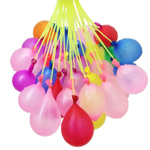 H229 灌水球神器-111顆水球 氣球 水球 畢業 打水仗【文具e指通】量販團購A