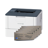 FujiXerox DocuPrint P375dw 黑白網路雷射印表機 搭五支CT203108原廠碳粉匣