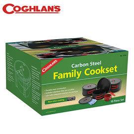 丹大戶外【Coghlans】加拿大 CARBON STEEL FAMILY COOKSET 家庭套鍋組 1314