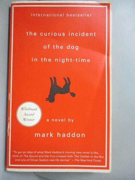 【書寶二手書T1/原文小說_IHD】The Curious Incident of the Dog in the Night_Mark Haddon
