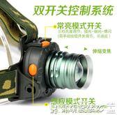 強光小燈頭頭戴式超輕迷你夜釣燈上餌感應釣魚小頭燈LED強光超亮充電防水 爾碩數位3c