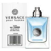 【VERSACE】Pour Homme 經典 男香 100ml TESTER - 環保盒無蓋