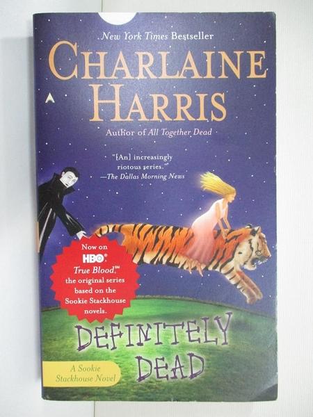 【書寶二手書T9/原文小說_G63】Definitely Dead_Harris, Charlaine