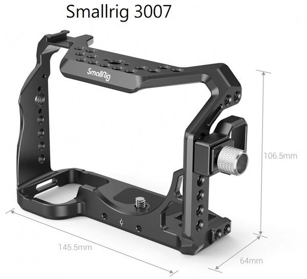 【震博】Smallrig Cage 3007兔籠錄影用支架 (帶HDMI電纜夾)適用於Sony A7Siii / A7SM3相機提籠