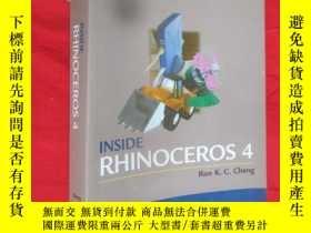 二手書博民逛書店Inside罕見Rhinoceros 4 (16開)【詳見圖】,附光盤Y5460 Ron K.C. Cheng