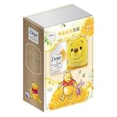 多芬日本植萃蜂蜜輕盈柔亮洗髮露組合(蜜蜂裝維尼) 【康是美】