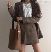 chic寬肩帶網紅水桶包包大容量韓版托特包女學生pu軟皮單肩斜背包 育心小館
