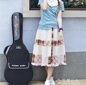 吉他包-卡馬吉他包海綿加厚雙肩背包黑色40寸41寸吉他防水琴包通用吉它袋 花間公主 YYS