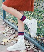 堆堆襪女韓國秋冬潮個性薄款夏季日系襪子女中筒韓版學院風長高筒 韓幕精品