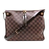 【台中米蘭站】全新展示品 Louis Vuitton Duomo 棋盤格斜背信差包(N41425-咖)