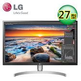 【LG 樂金】27型 4K UHD 高畫質 專業多工電競顯示器(27UK850-W)