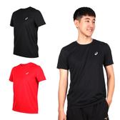 ASICS 男片假名短袖T恤(免運 吸濕排汗 慢跑 路跑 短T 亞瑟士≡排汗專家≡