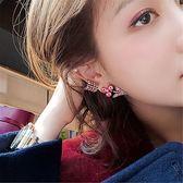 耳環 復古 一箭穿心 鑲鑽 設計 個性 誇張 耳釘 耳環【DD1812075】 BOBI  03/07