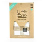LIFEAPP經典格子睡墊布套-不含睡墊(M)棕格子