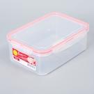 日本製【Inomata】四扣式保鮮盒R-1300/ 1.3L / 1851