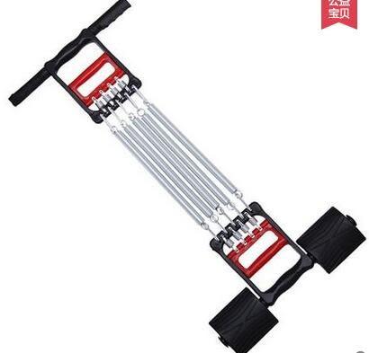 彈簧拉力器繩彈弓多功能男女臂力健身器材家用減肥握力器