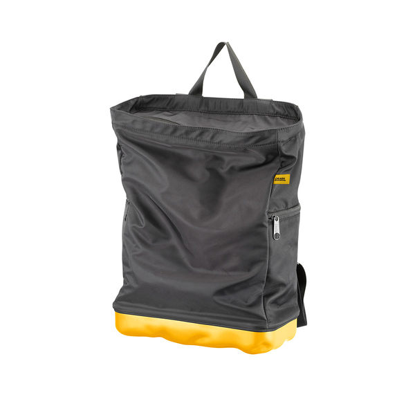 Crash Baggage Bump Bags, 13 吋 前衛霧面 龐克系列 防潑水 後背包 / 筆電包(黑色袋身 - 加州黃硬殼)