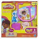 《 Play - Doh 培樂多黏土 》迪士尼公主 - 小醫師大玩偶遊戲組╭★ JOYBUS玩具百貨