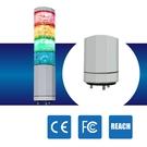 LED警示燈 NLA50DC-4B6D-RYGB IP53 2.4W DC 24V 積層燈/三色燈/多層式/報警燈/適用機械自動化設備