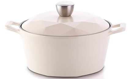 韓國NEOFLAM Carat 鑽石頂級陶瓷不沾鍋 (雙柄湯鍋 28cm) 【韓國代購】