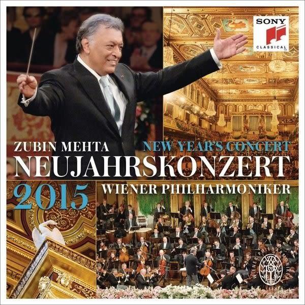 2015維也納新年音樂會 祖賓 梅塔 維也納愛樂 CD (購潮8)