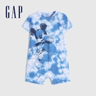 Gap嬰兒 Gap x Disney 迪士尼系列包屁衣 862581-藍色紮染