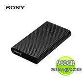 Sony 索尼 Extermal SSD 960GB Type-C USB3.1 外接式 固態硬碟-黑