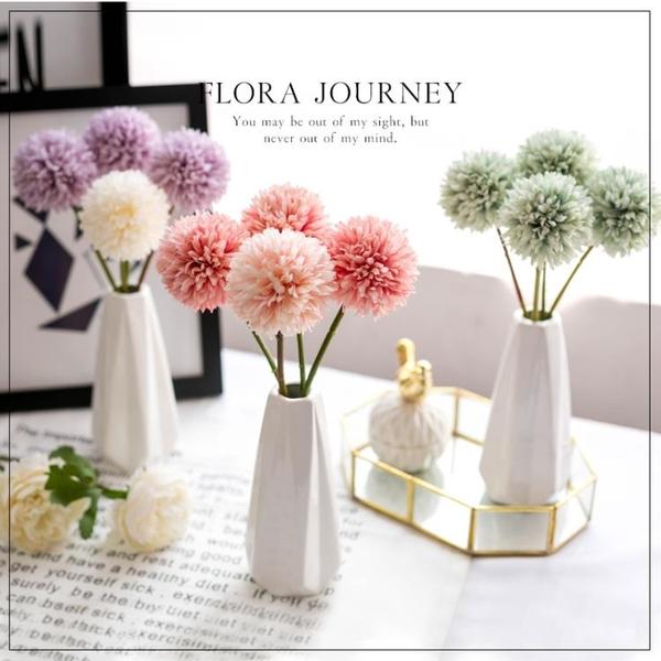 【伊人閣】人造花仿真花客廳擺設花瓶裝飾品
