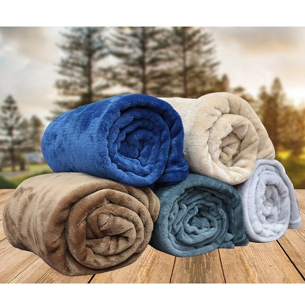【INDIAN】素色法蘭絨休閒毯-(多款任選)_TRP多利寶