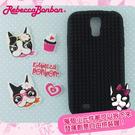 【Rebecca Bonbon】Samsung Galaxy S4 童趣拼圖保護套-甜心黑