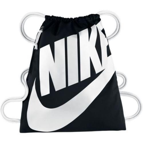nike HERITAGE GYMSACK 抽繩 束口袋 束口後背包 休閒包 後背包  BA5351-011 黑色