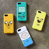 Adventure Time 探險活寶 老皮 雙層防摔 手機殼│iPhone 5S SE 6S 7 8 Plus X XS MAX XR│z7750