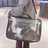 貓包寵包貓籠子狗包包貓咪外出便攜包外帶包貓袋透明貓箱貓背包【幸運閣】
