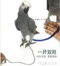 鸚鵡放飛防咬外出遛鳥繩八哥烏鴉玄鳳虎皮牡丹訓練飛行腳鍊腳環 快速出貨