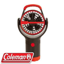 【Coleman 美國 BATTERYLOCK杯架風扇 紅】CM-27315/風扇/迷你電扇/攜帶型★滿額送