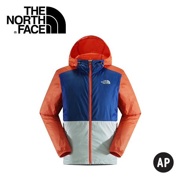 【The North Face 男 抗UV外套 木瓜橘/里蒙藍/灰白】 NF00CUZ0/抗UV外套/薄外套/防曬外套