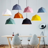 餐廳吊燈單頭彩色店鋪商用奶茶店辦吊燈具