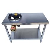 不銹鋼猛火灶單灶商用灶台雙架子中高壓煤氣灶液化氣燃氣灶頭